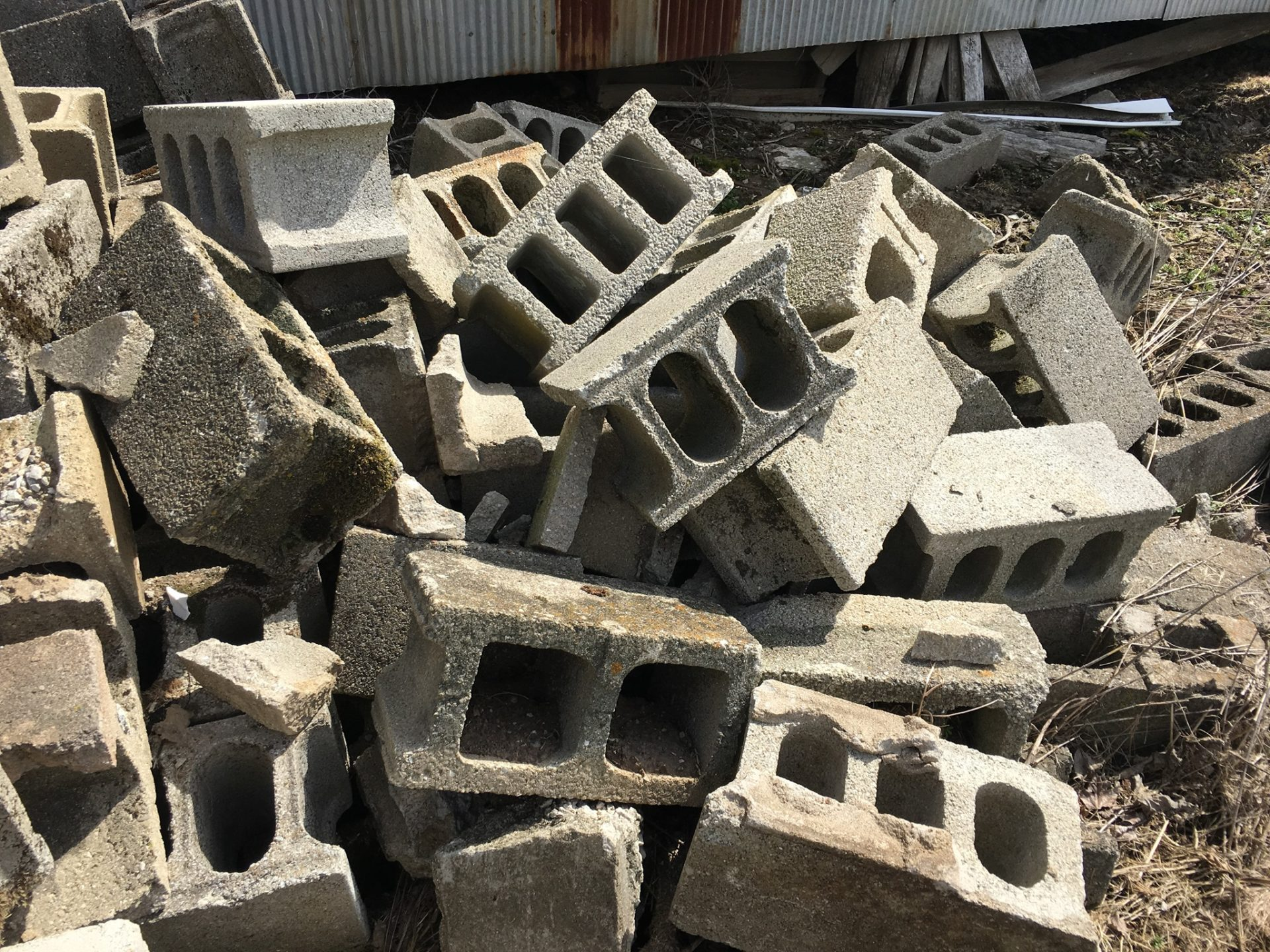 CONCRETE BLOCKS 4