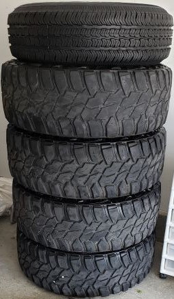 Tires Stacked (2)