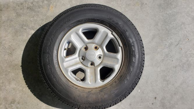 Tires Side View 2