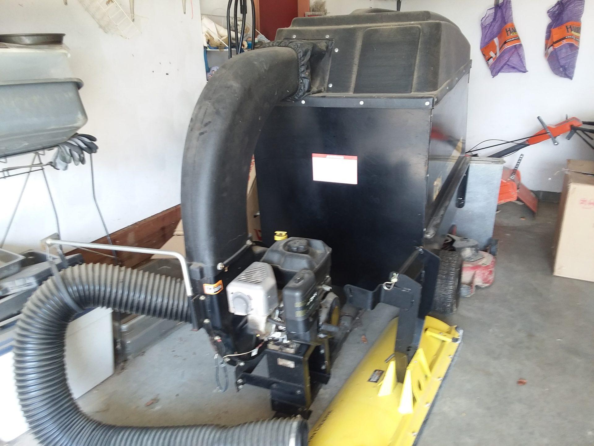 Vacuum trailer