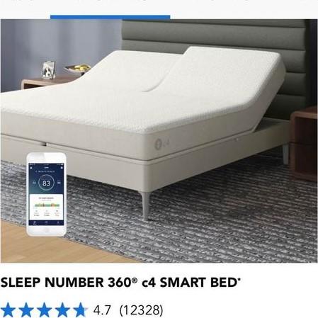 Sleep number smart bed 1 (2)