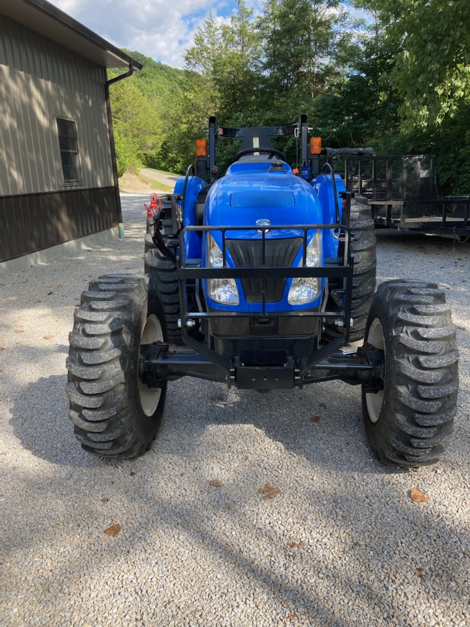 Tractor front